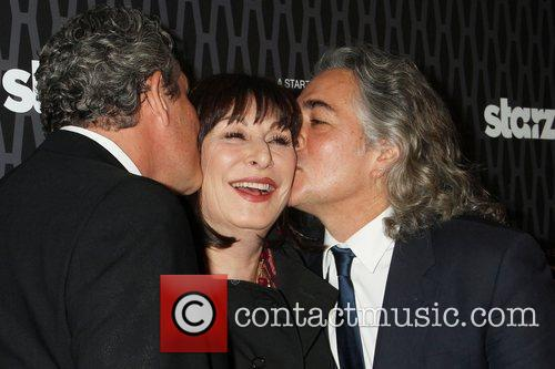 Danny Huston, Anjelica Huston and Mitch Glazer 4