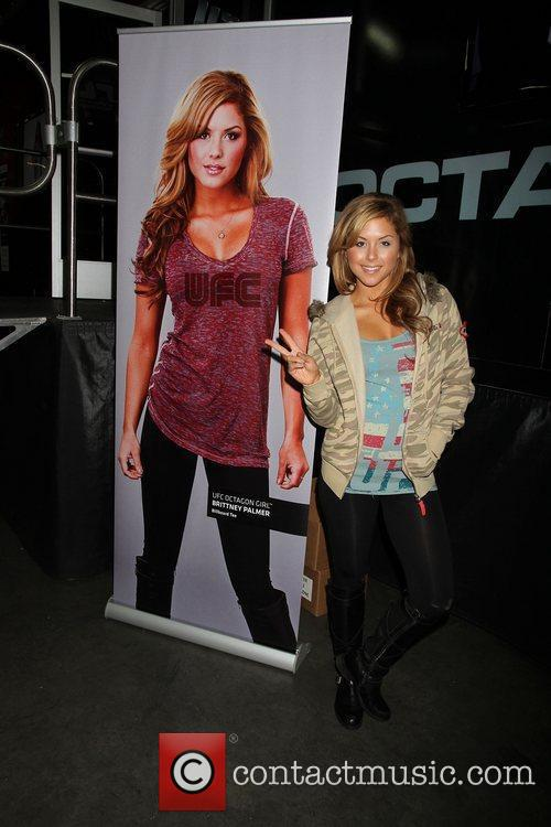 Brittney Palmer 'Magic Convention 2012' at the Las...