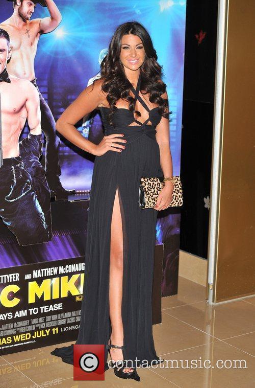 Cara Kilby Magic Mike UK film premiere held...