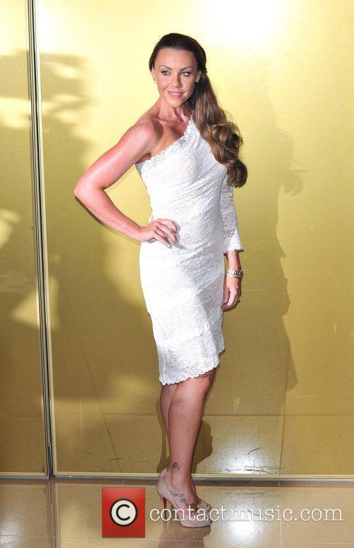 Michelle Heaton Magic Mike UK film premiere held...
