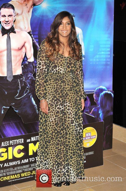Tina Daheley Magic Mike UK film premiere held...