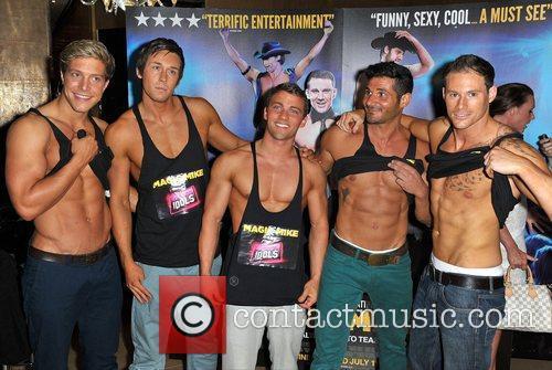 Dream Idols,  'Magic Mike' European Premiere-Mayfair Hotel...