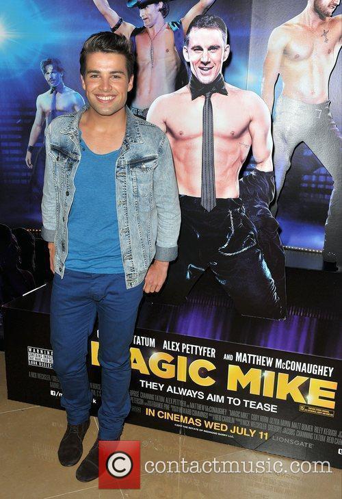 Joe McElderry,  'Magic Mike' European Premiere-Mayfair Hotel...