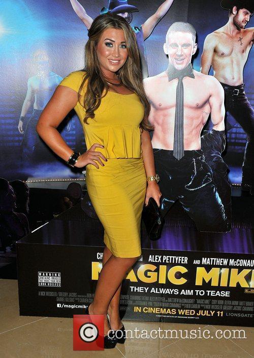 Lauren Goodger,  'Magic Mike' European Premiere-Mayfair Hotel...