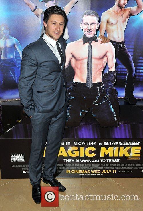 Tony Discipline,  'Magic Mike' European Premiere-Mayfair Hotel...