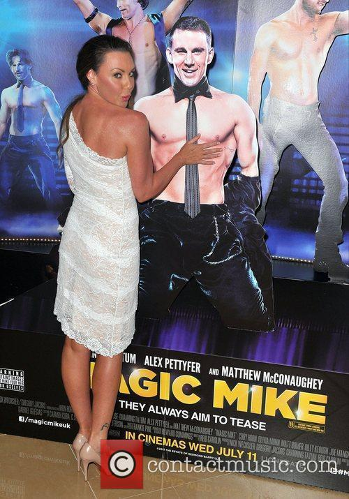 Michelle Heaton,  'Magic Mike' European Premiere-Mayfair Hotel...
