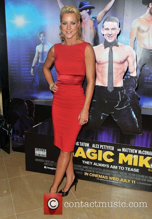 Natalie Lowe,  'Magic Mike' European Premiere-Mayfair Hotel...