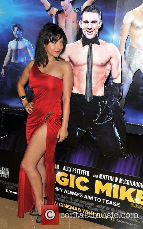 Roxanne Pallett,  'Magic Mike' European Premiere-Mayfair Hotel...