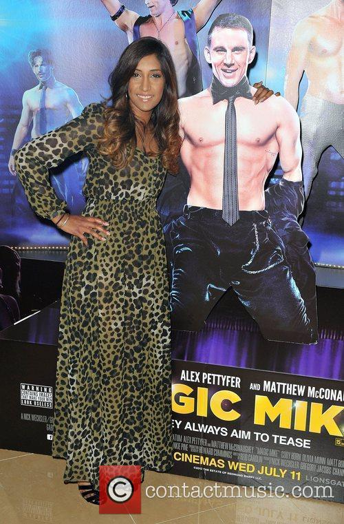 Tina Daheley ,  'Magic Mike' European Premiere-Mayfair...