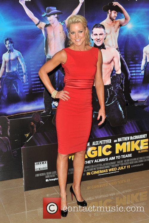Natalie Lowe Magic Mike UK film premiere held...