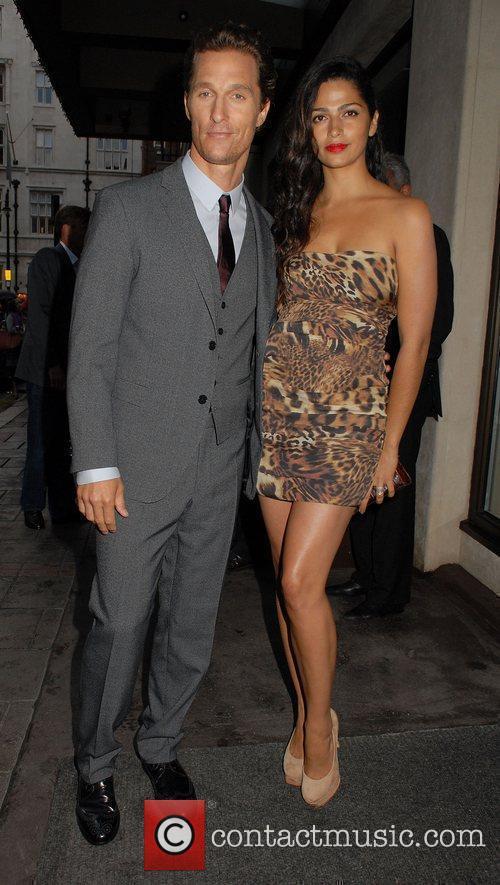 Matthew McConaughey and Camila Alves,  'Magic Mike'...