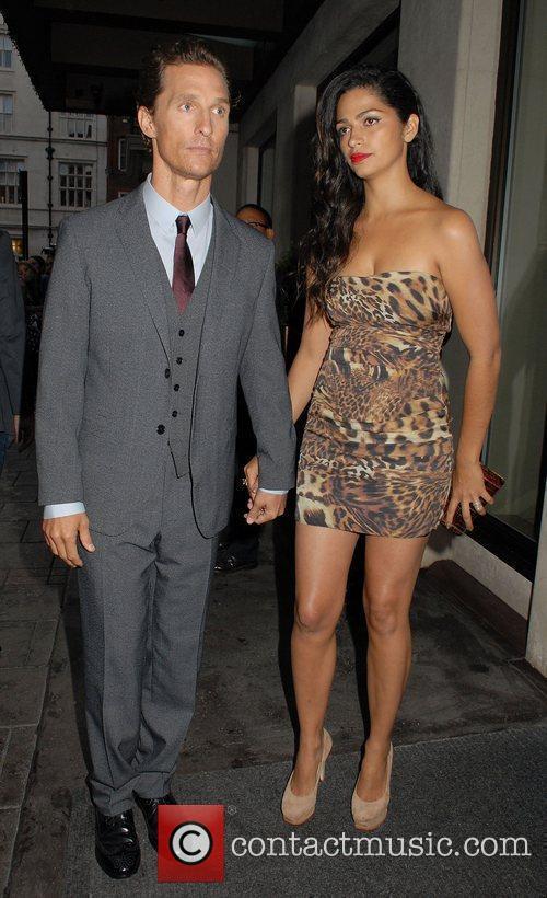 Matthew Mcconaughey and Camila Alves 1