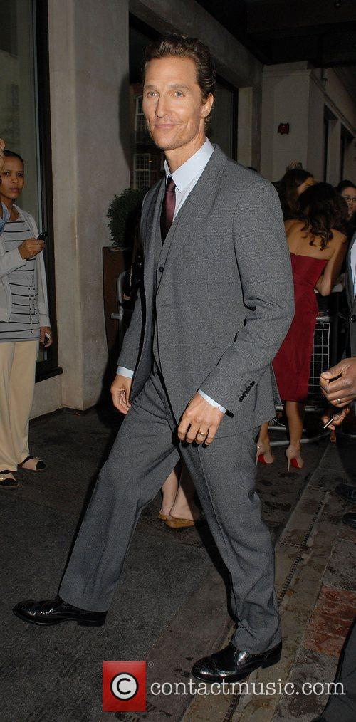 Matthew McConaughey,  'Magic Mike' European Premiere at...