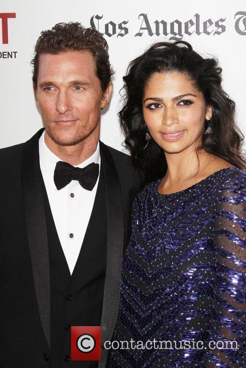 Matthew Mcconaughey, Camila Alves and Los Angeles Film Festival 9