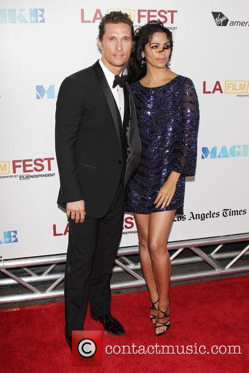 Matthew Mcconaughey, Camila Alves and Los Angeles Film Festival 11