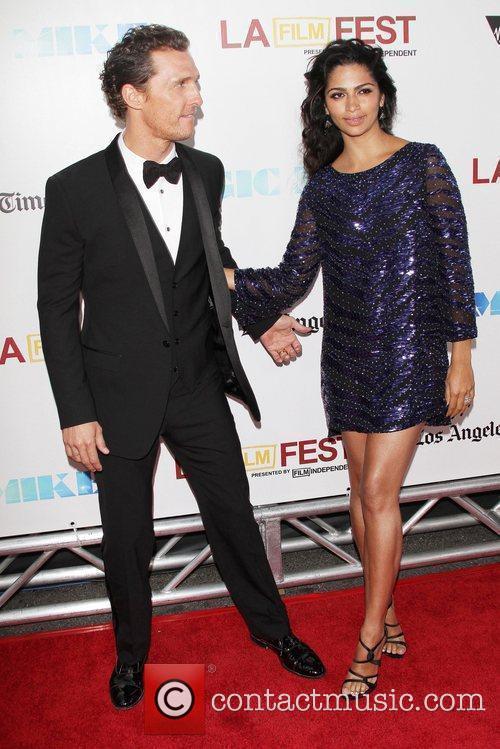 Matthew Mcconaughey, Camila Alves and Los Angeles Film Festival 4