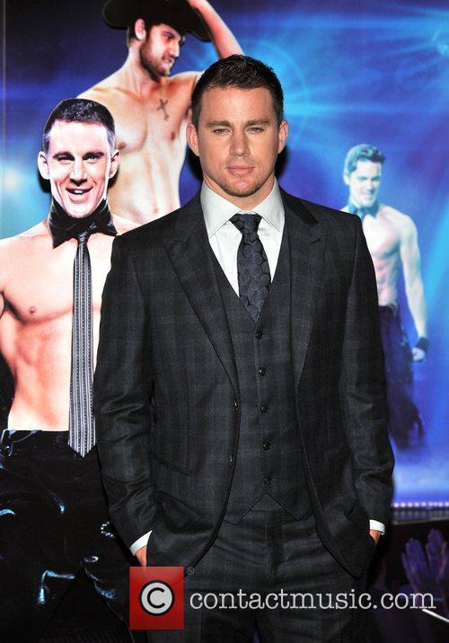 Channing Tatum Magic Mike UK film premiere held...