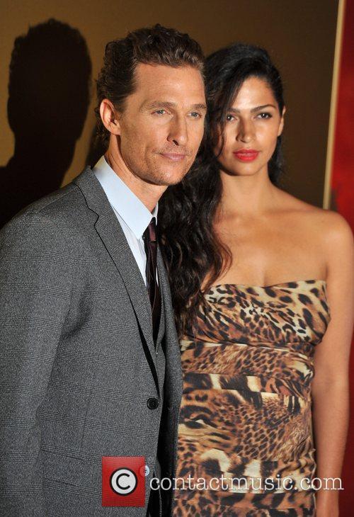Matthew McConaughey and guest Magic Mike UK film...