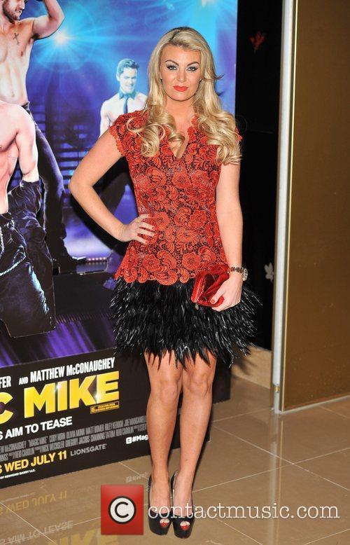 Billi Mucklow Magic Mike UK film premiere held...