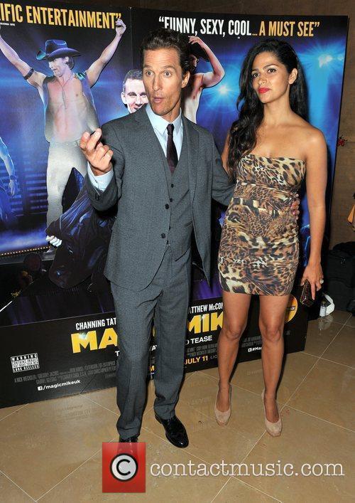 Matthew McConaughey, Camilla Alves  'Magic Mike' European...