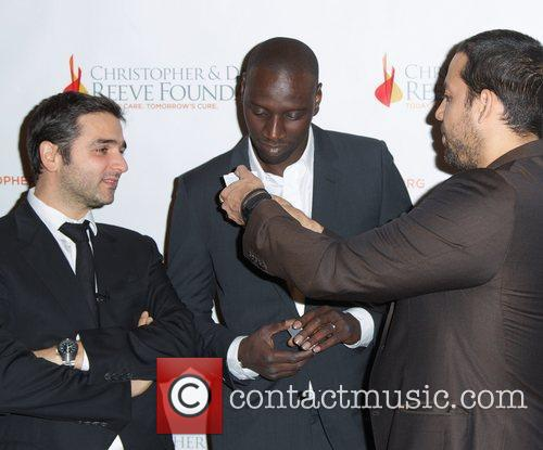 Omar Sy, Olivier Nakache and David Blaine 3
