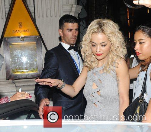 Rita Ora and Mahiki Club 7