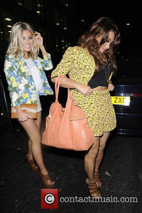 Mollie King and Vanessa White 1