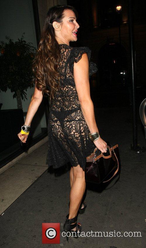 lizzie cundy outside mahiki nightclub london england 4104606