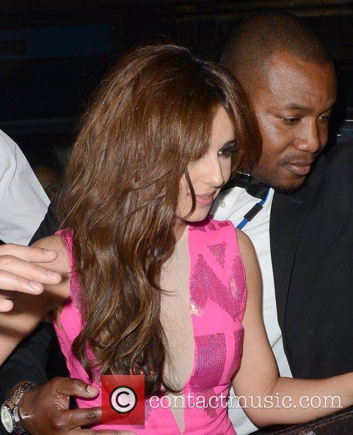 cheryl cole leaves mahiki nightclub london england   010612 3921399