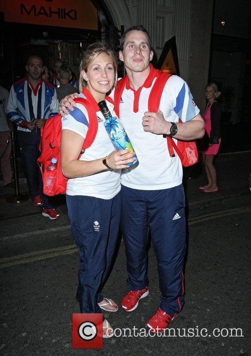 Olympic Judo Gemma Gibbons and Olympic rower Matthew...