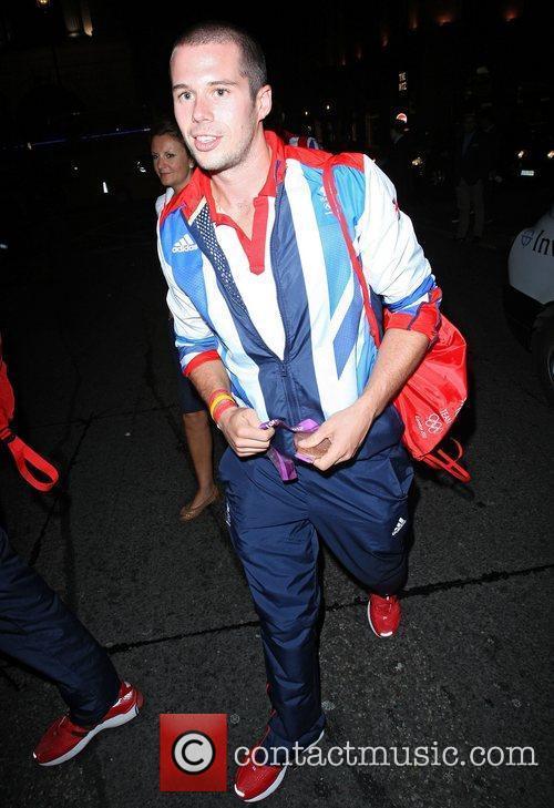 Olympic rower James Foad,  at Mahiki nightclub...