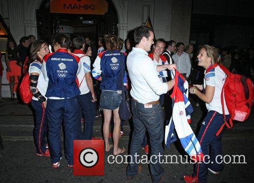 Team GB Olympian's at Mahiki nightclub London, England