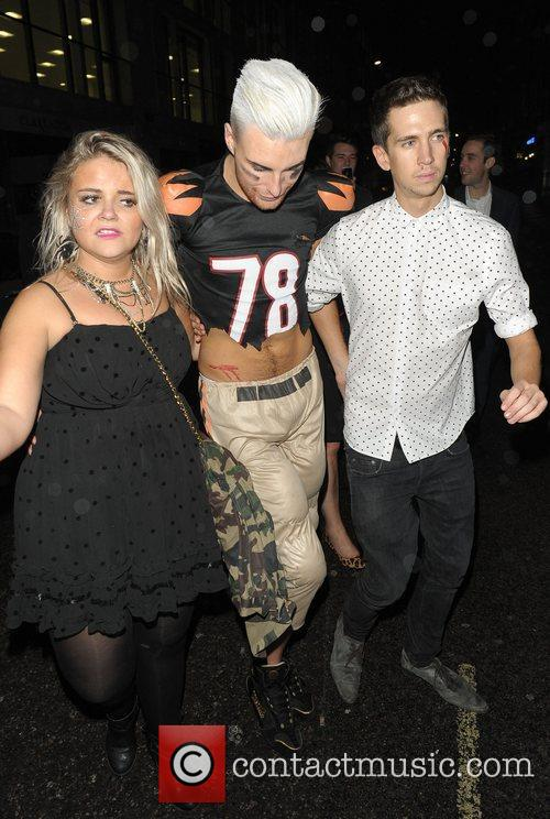 Rylan Clark and Mahiki Club 5