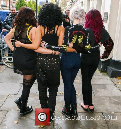 Jesy Nelson, Leigh-Anne Pinnock, Perrie Edwards and...