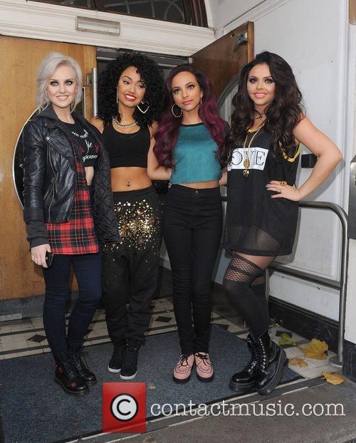 Perrie Edwards, Leigh-anne, Pinnock, Jade Thirlwall, Jesy Nelson, Little Mix, Maida Vale and Live Lounge 6