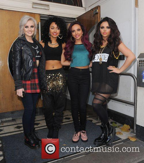Perrie Edwards, Leigh-Anne, Pinnock, Jade Thirlwall, Jesy Nelson, Little Mix, Maida Vale, Live Lounge