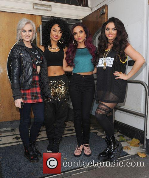 Perrie Edwards, Leigh-anne, Pinnock, Jade Thirlwall, Jesy Nelson, Little Mix, Maida Vale and Live Lounge 9