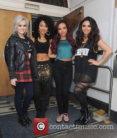 Perrie Edwards, Leigh-anne, Pinnock, Jade Thirlwall, Jesy Nelson, Little Mix, Maida Vale and Live Lounge 10