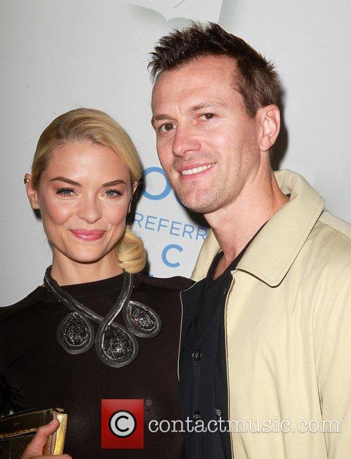 Jaime King and Kyle Newman Celebrate the launch...