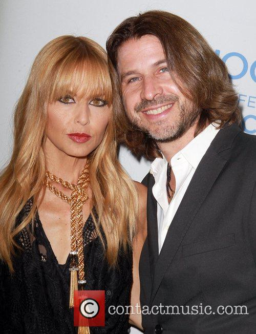 Rachel Zoe and Rodger Berman Celebrate the launch...