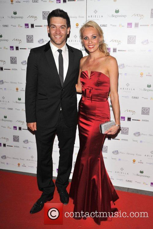 Kevin Sacre and Camilla Dallerup fundraising dinner to...