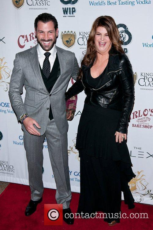 Maksim Chmerkovskiy and Kirstie Alley 4