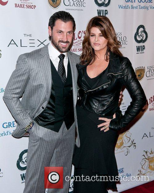 Maksim Chmerkovskiy and Kirstie Alley 5