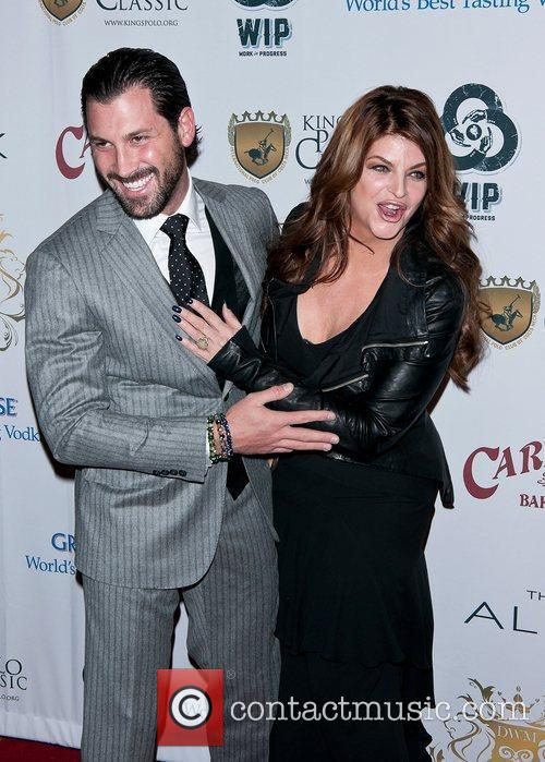 Maksim Chmerkovskiy and Kirstie Alley 6