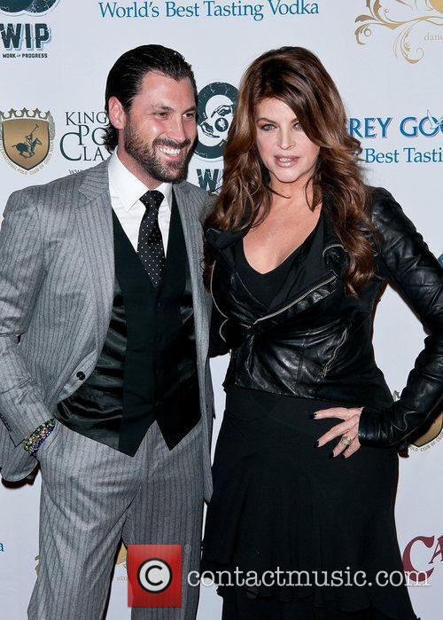 Maksim Chmerkovskiy and Kirstie Alley 7
