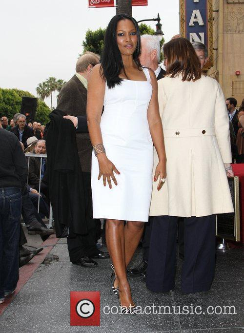 Garcelle Beauvais-nilon and Walk Of Fame 6