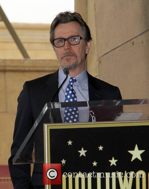 Gary Oldman and Walk Of Fame 1