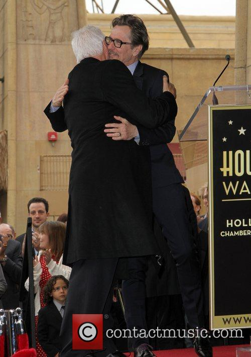 Malcolm Mcdowell, Gary Oldman and Walk Of Fame 5