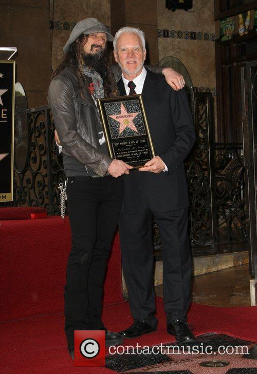 Malcolm Mcdowell, Rob Zombie and Walk Of Fame 6