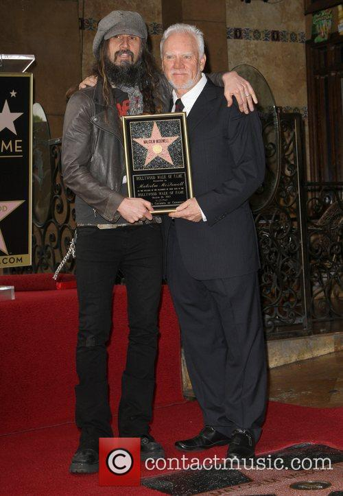 Malcolm Mcdowell, Rob Zombie and Walk Of Fame 7
